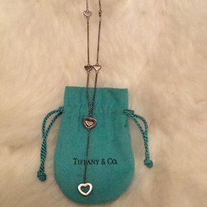 Tiffany & Co Lariat Heart necklace